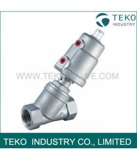 Stainless Steel Air Operated Angle Seat Valve