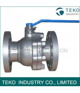 2-PC Two Pieces Floating Ball Valve