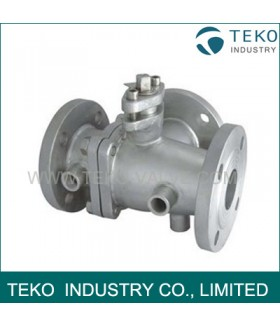 3 Way Jacketed Ball Valve