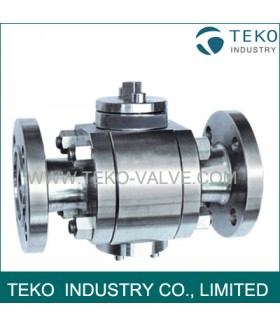 3PCS 3 Pieces  Forged Steel Ball Valve