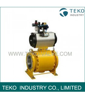 High Pressures Forged Steel Fixed Ball Valve