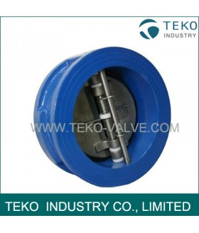 Ductile Iron Wafer Type Duo Disc Check Valve
