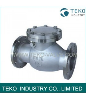 Stainless Steel Flanged Check Valve