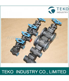 Full Port Forged Steel Valves , High Pressure Welded Flanged End Bolted Bonnet Gate Valve Class 800 ~ 2500LB