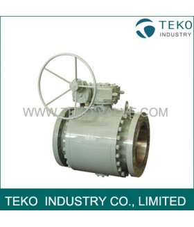 Forged Steel Sulfur Resistant Trunnion Ball Valve