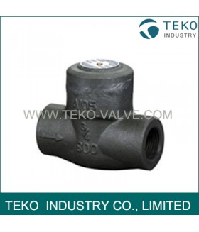 High Quality Welded Bonnet Spring Check Valve