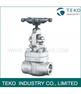 OS / Y Bolted Bonnet Forged Steel Valves , Regular Port Forged Steel Gate Valve