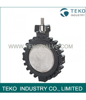 Soft Seated High Performance Butterfly Valves , Long Life Span Lug Type Butterfly Valve