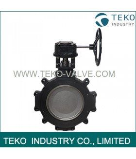 Fire Safe High Performance Butterfly Valves , Manual Double Offset Butterfly Valve
