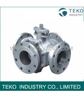 JIS Four Way Ball Valve