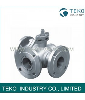 T Port L Port Three Way Ball Valve