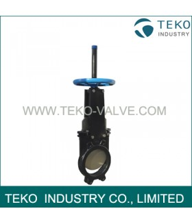 Stainless Steel Bi-directional Resilient Seated Knife Gate Valve