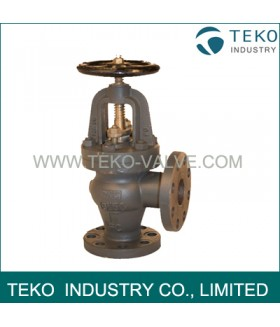 High Pressure Marine Cast iron Angle Valve