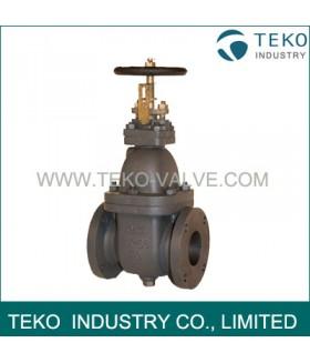 Marine cast iron gate valve