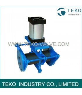 Open Body Pinch Valve, Pneumatic Pinch Valve