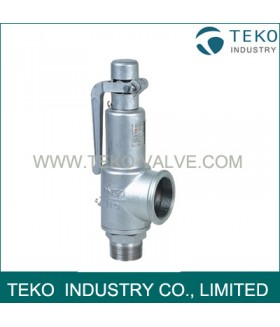 Stainless Steel Spring Loaded Safety Valve