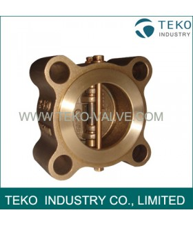 Brass Dual Plate Wafer Check Valve