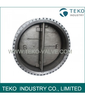 Double Flange Type Dual Plate Check Valve
