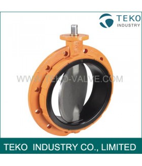 Mono Flange Butterfly Valve