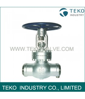 Weld End Gate Valve