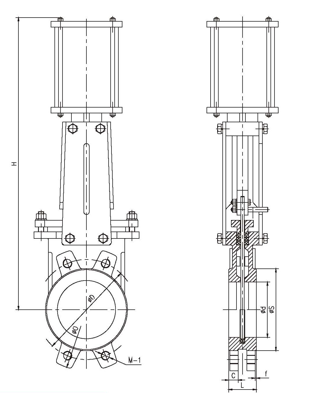 Soft seal knife gate valve dn pooptronica Images